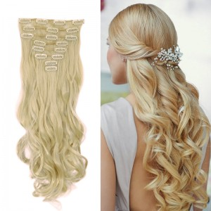 Maga-Hair-Long-24-New-Women-Party-Hair-Extension-8PCS-SET-Full-head-Clip-in-ins-2