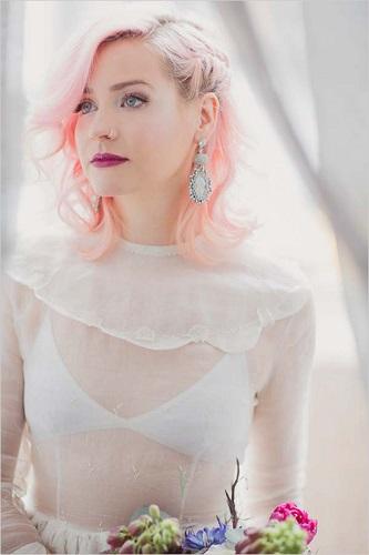 pinkweddinghair1